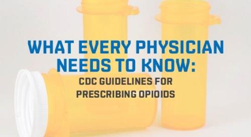 CDC Guidelines for Prescribing Opioids