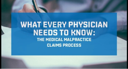 The Medical Malpractice Claims Process