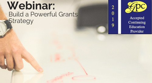 Build a Powerful Grants Strategy