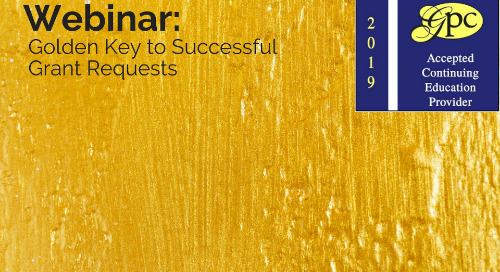 The Golden Key to Successful Grant Requests