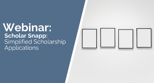 Scholar Snapp: Simplified Scholarship Applications