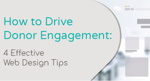 How to Drive Donor Engagement: 4 Effective Web Design Tips