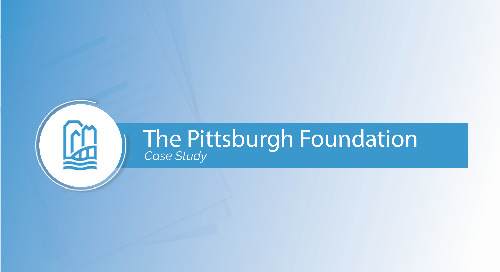 The Pittsburgh Foundation Case Study