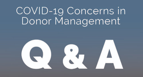 COVID-19 Concerns in Donor Management: Session 1 (April 1st, 2020)