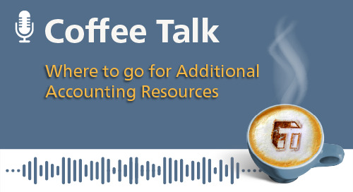 Where to go for Additional Accounting Resources