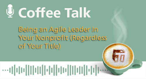 Being an Agile Leader In Your Nonprofit (Regardless of Your Title)