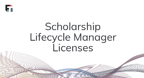 Scholarship Lifecycle Manager License Comparison