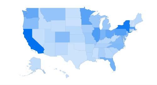 Foundant Client Map