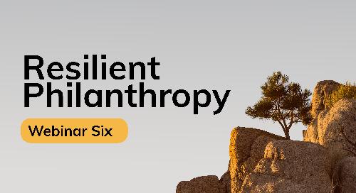 Resilient Philanthropy: An Agile Cohort for Nonprofit Capacity Building