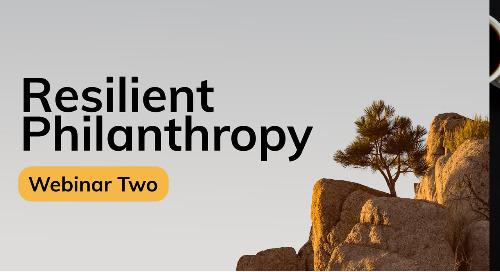Resilient Philanthropy Through Collaborative Programs