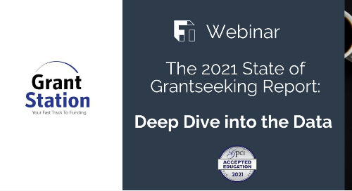 The 2021 State of Grantseeking Report: Deep Dive into the Data