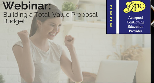 Building a Total-Value Proposal Budget