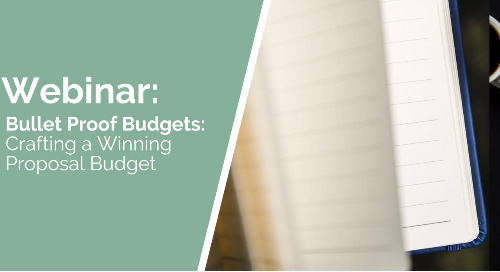 Bullet Proof Budgets: Crafting a Winning Proposal Budget
