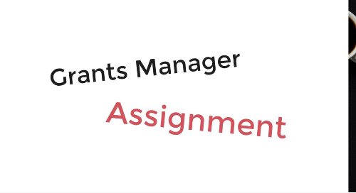 Grants Manager Assignment