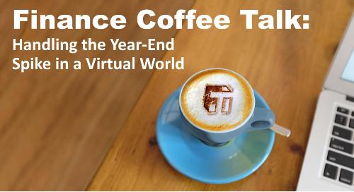 Coffee Talk: Handling the Year-End Spike in a Virtual World
