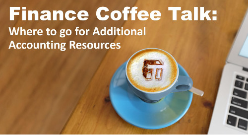 Coffee Talk: Where to go for Additional Accounting Resources