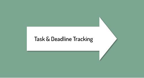 Task & Deadline Tracking