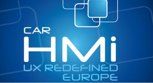 Car HMi UX Redefined Europe 2018