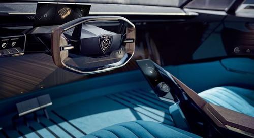 新闻稿 | 标致为其新概念汽车的数字驾驶舱选择Qt