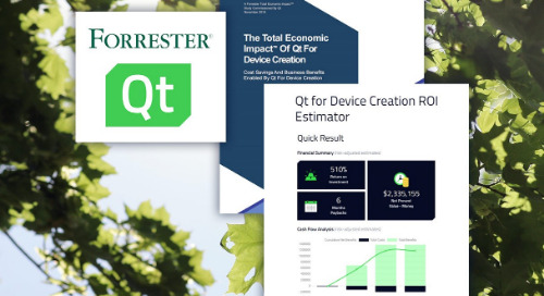 Consult our ROI advisors to learn how Qt can set up your business for success long-term