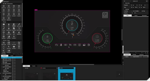 小课堂 | 如何用Qt Design Studio打造汽车仪表盘(第一部分)