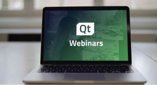 视频 | Qt for MCUs 1.0入门 (英文网络研讨会)