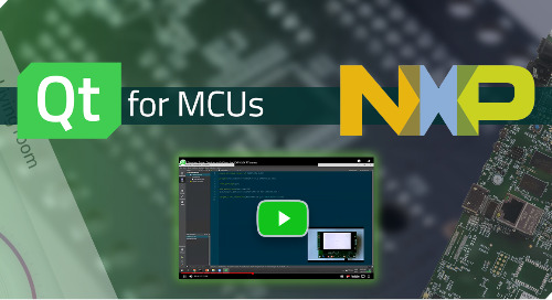 Creating User Interfaces for NXP Crossover MCUs with Qt {On-demand webinar}