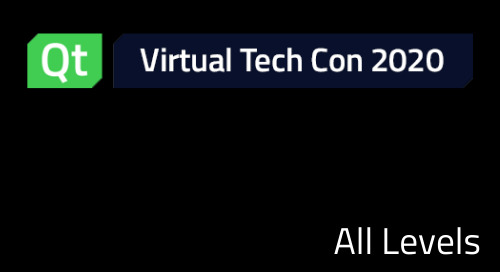 Welcome to Qt Virtual Tech Summit