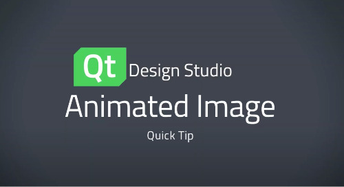 Qt Design Studio QuickTip: Animated Images