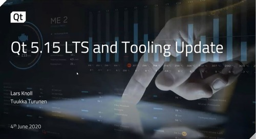 Qt 5.15 LTS: Built to Last