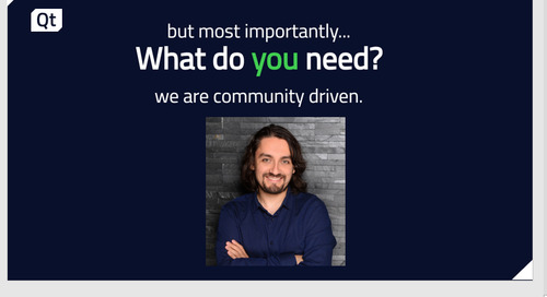 We are community driven. Let's talk!
