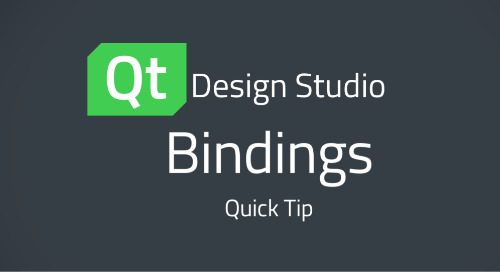 Qt Design Studio QuickTip: Bindings