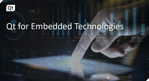 Qt for Embedded Technologies {On-demand webinar}