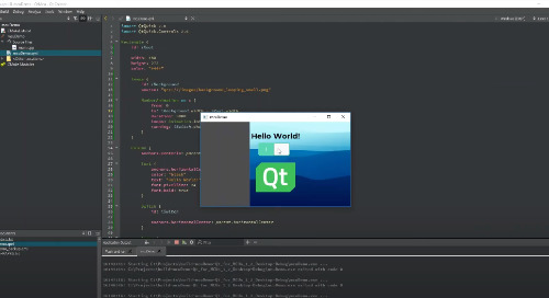 Build your first 'Qt for MCUs' application