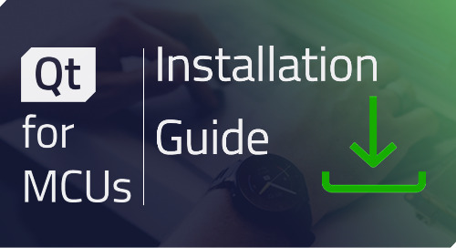 Qt for MCUs: Installation Guide