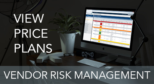 Pricing - Vendor Risk Management