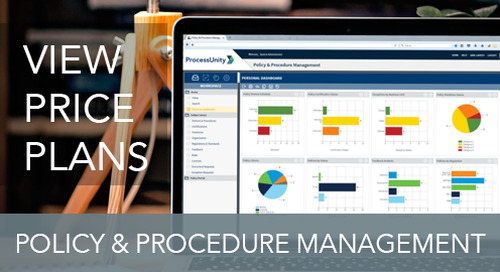 Pricing - Policy & Procedure Management