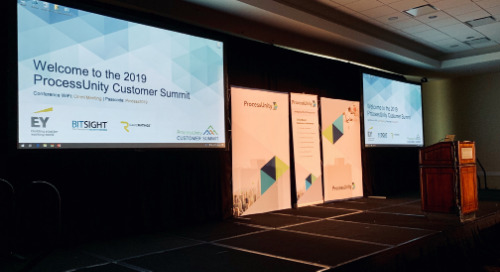 It's a Wrap: Four Takeaways from the 2019 ProcessUnity Customer Summit