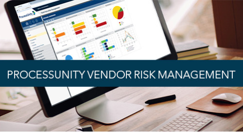 ProcessUnity Vendor Risk Management Overview