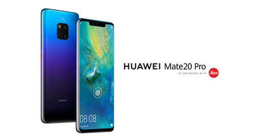 Cinq raisons pour lesquelles le HUAWEI Mate20 Pro pourrait être votre prochain téléphone intelligent