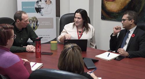 Un organisme caritatif canadien améliore ses relations avec ses clients grâce à un nouveau système téléphonique
