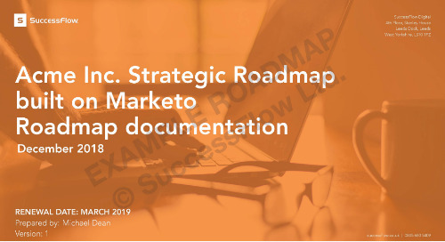 [ Guide ] Example Digital Roadmap