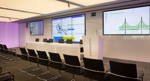 Eversheds Sutherland Auditorium & Boardroom