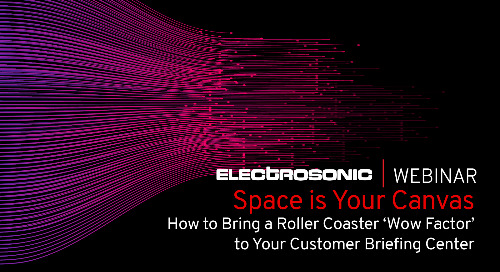 How to bring a roller coaster wow factor to your customer briefing center