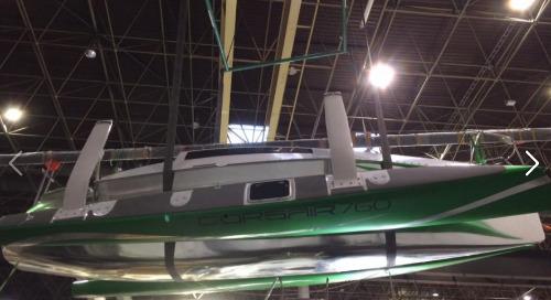 Corsair 760 trimaran test sail review