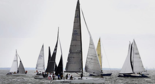The 95th Mills Trophy Race on the Great Lakes!