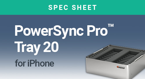 PowerSync Pro Tray 20 for iPhone