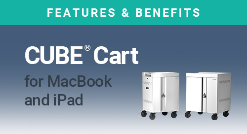 CUBE Cart for MacBook and iPad