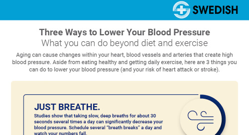 Lowering your blood pressure – beyond diet and exercise