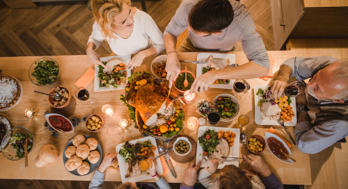 Five tips for holiday eating